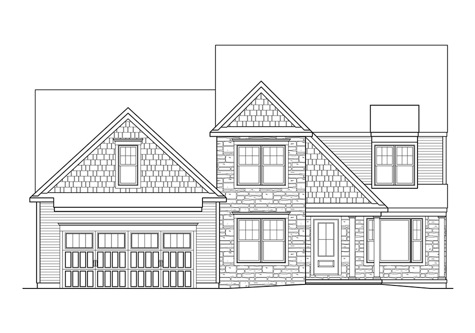 Cambridge American Elevation