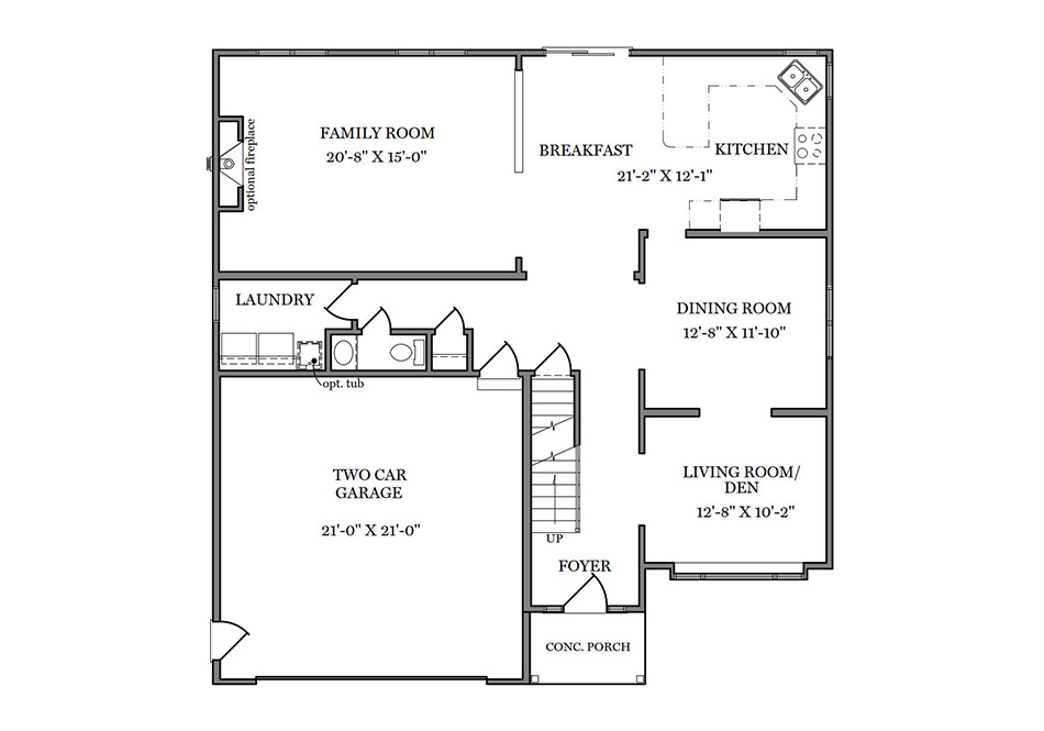 Carlton First Floor Plan