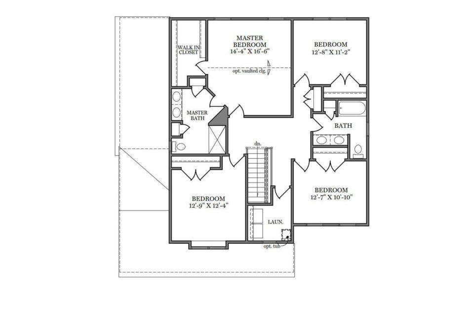 Carlton American Second Floor Plan