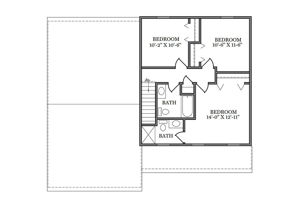 Benton Second Floor Plan