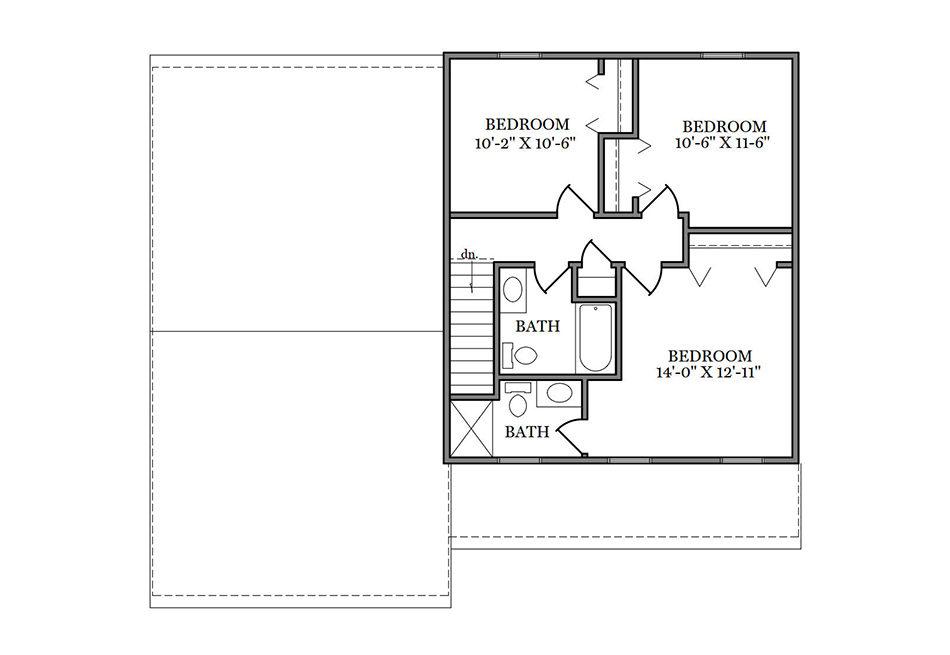 Benton Second Floor Plan