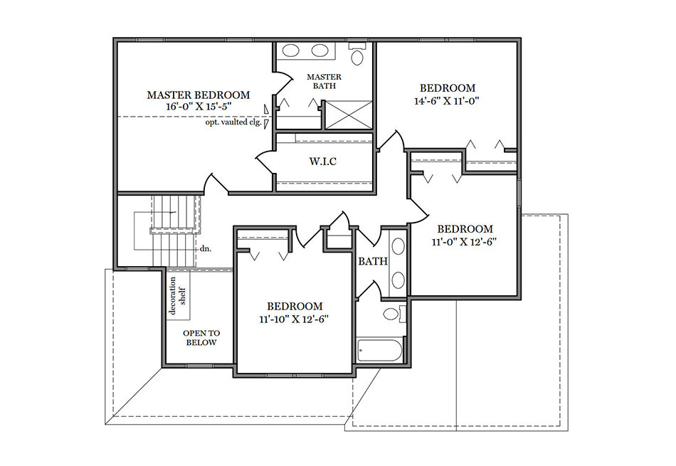 Glenwood Second Floor Plan