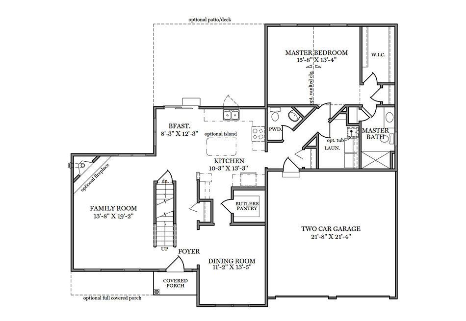 Warren First Floor Plan