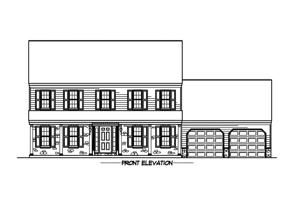 Briarwood 38′ Elevation