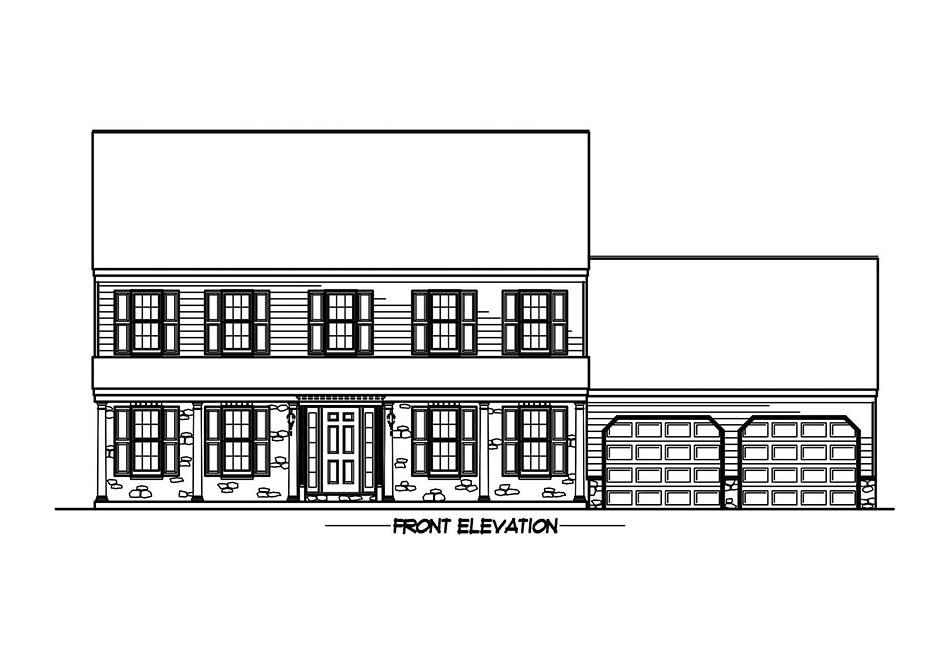 Briarwood 38′ Elevation