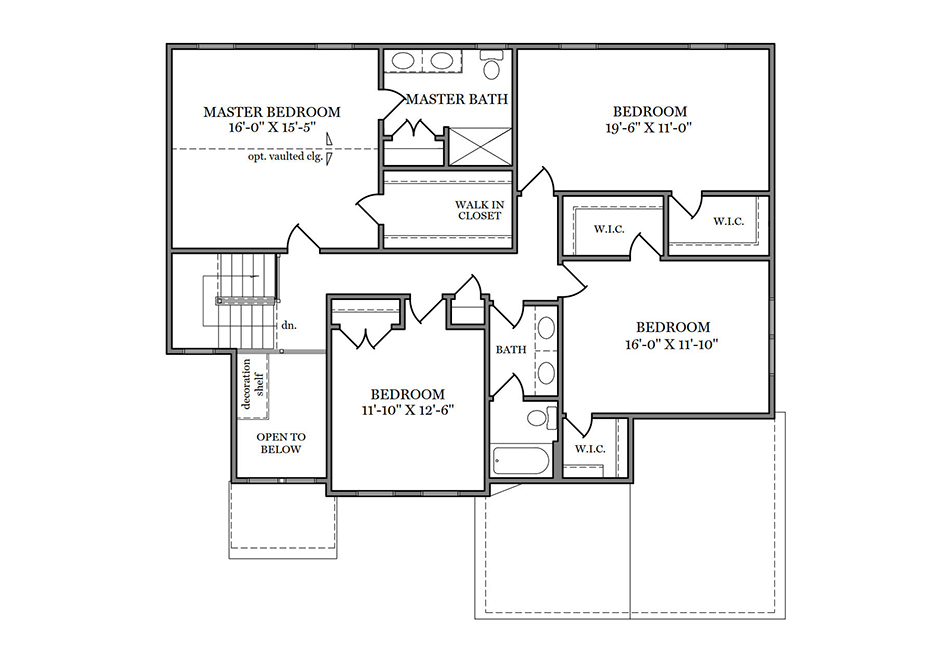 Glenwood American Second Floor Plan