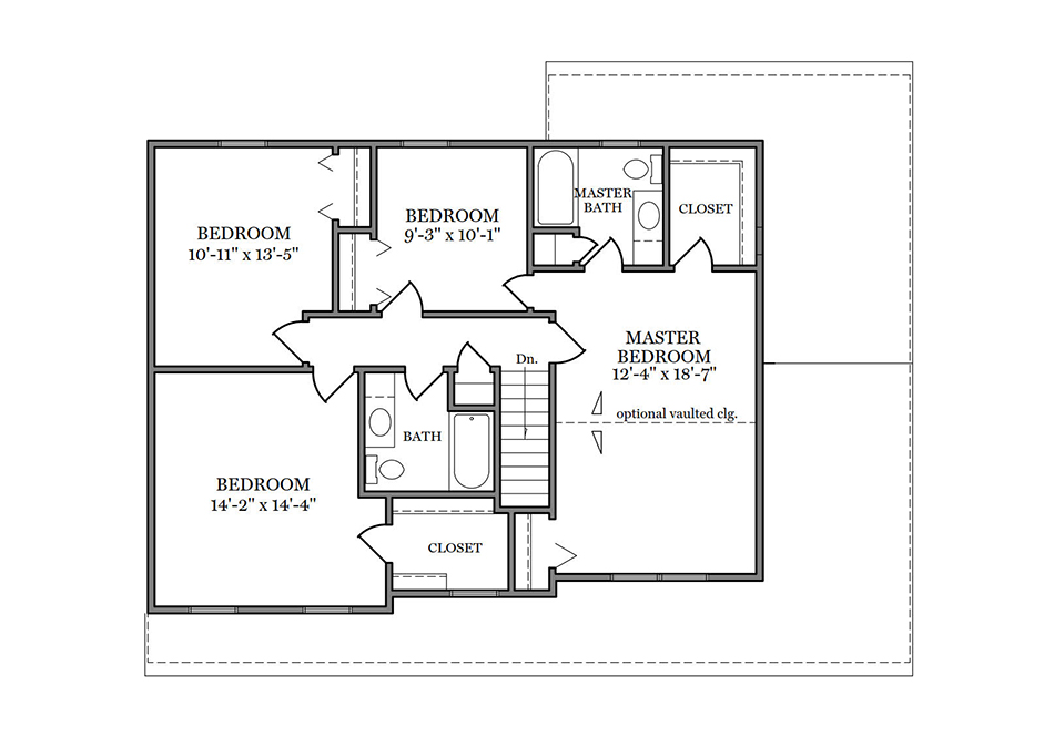 Adams II Second Floor Plan