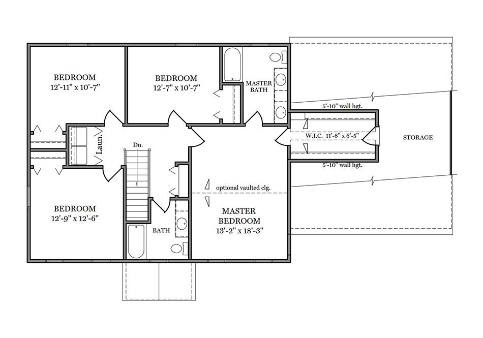 Briarwood Second Floor Plan