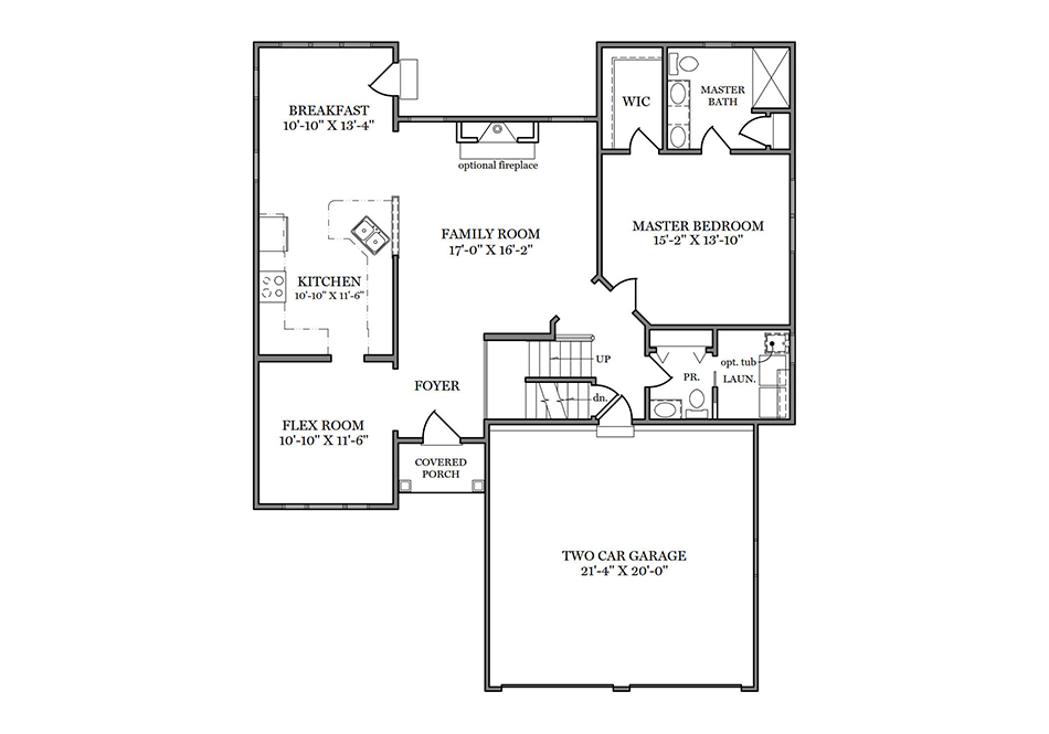 Fulton II First Floor Plan