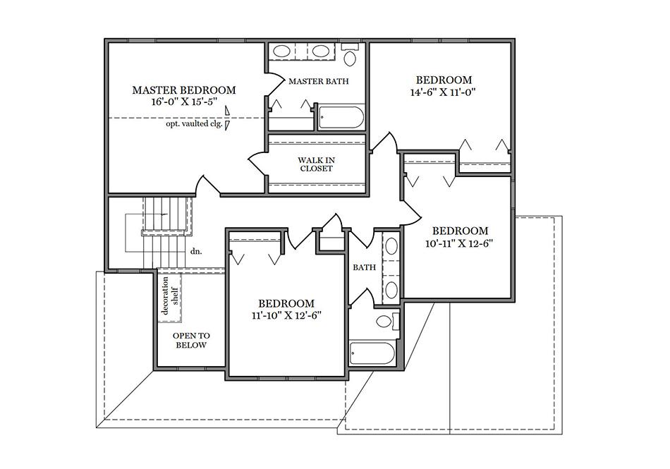 Glenwood Second Floor Plan