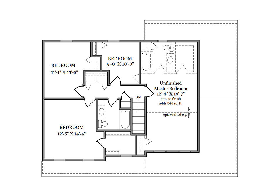 Kimble Second Floor Plan