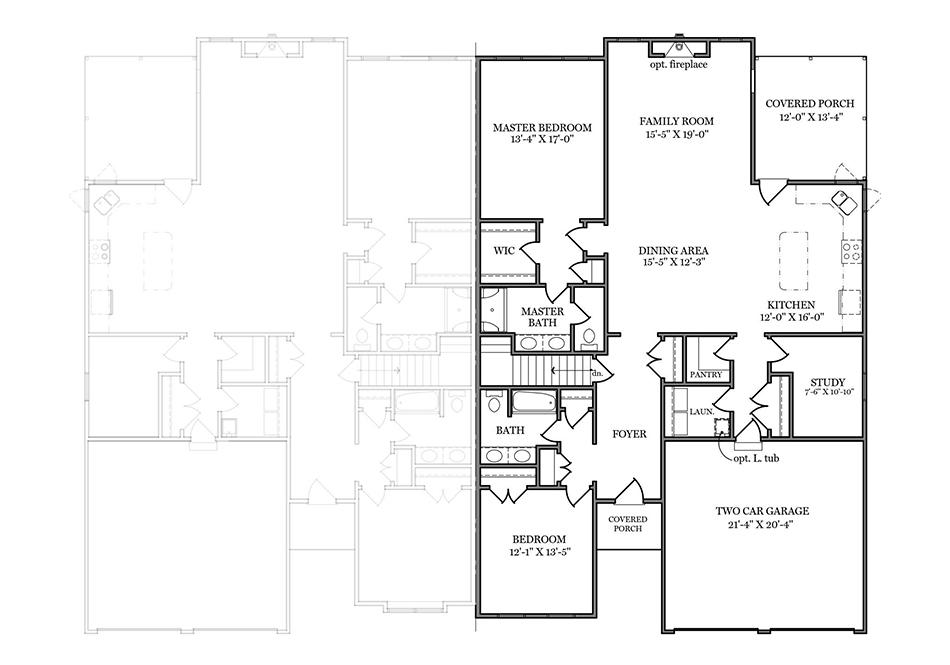 Coriander II First Floor Plan