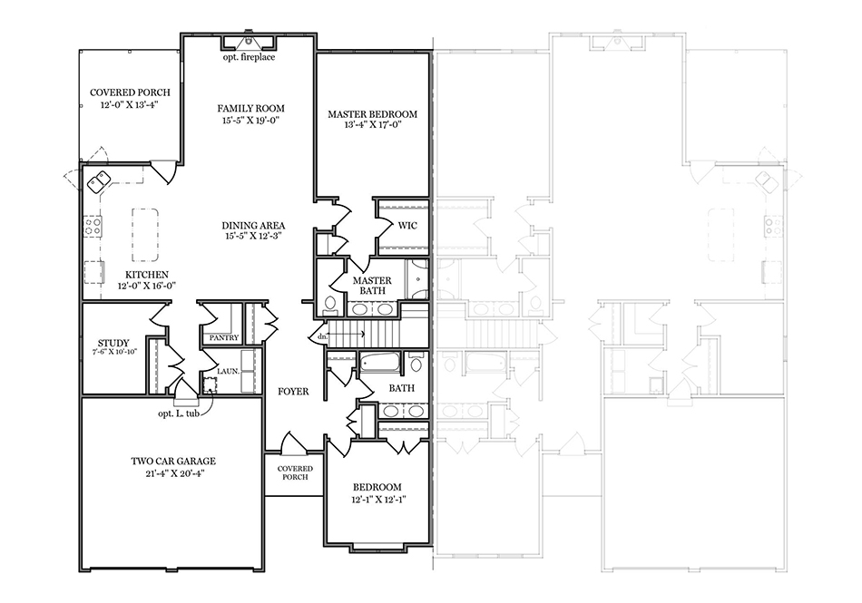 Coriander First Floor Plan
