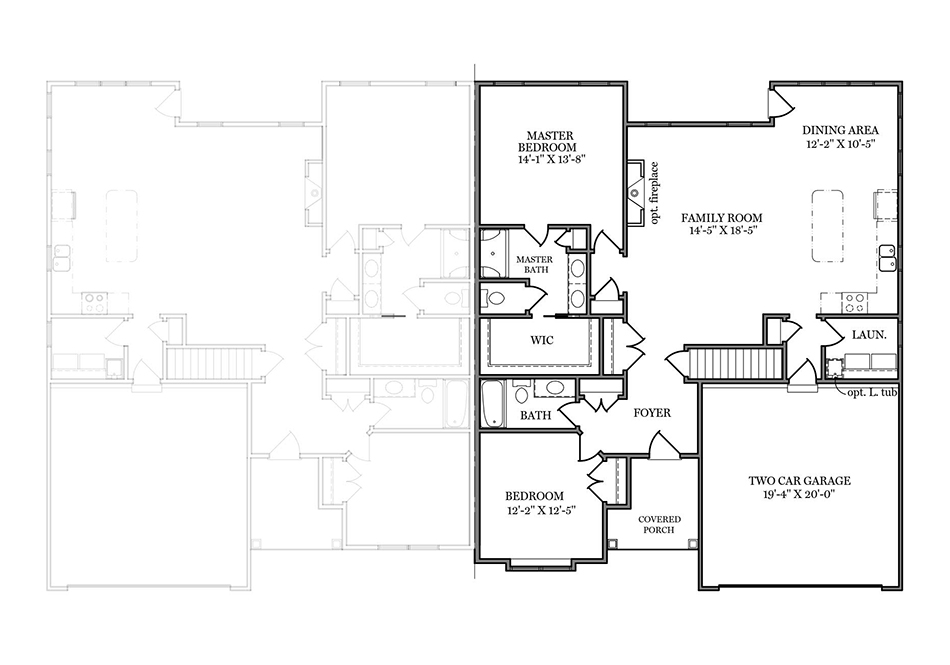 Sage II First Floor Plan