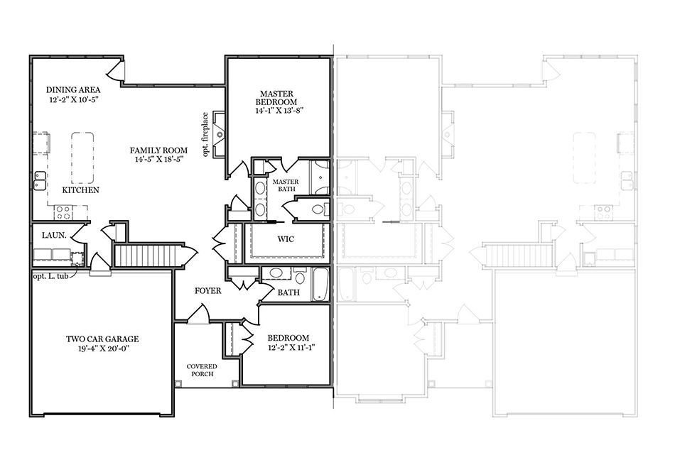 Sage I First Floor Plan
