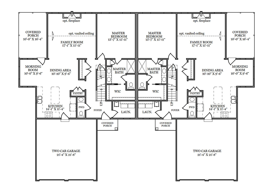 Tarragon First Floor Plan
