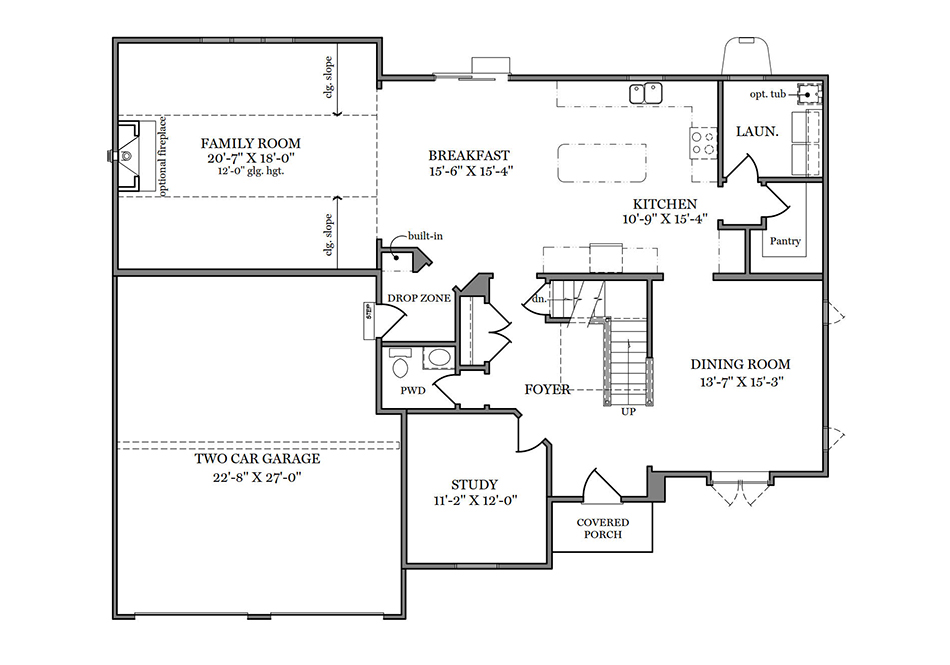 Magnolia First Floor Plan