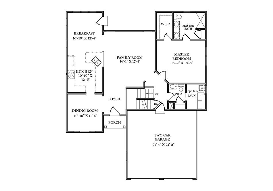 Fulton II First Floor Plan