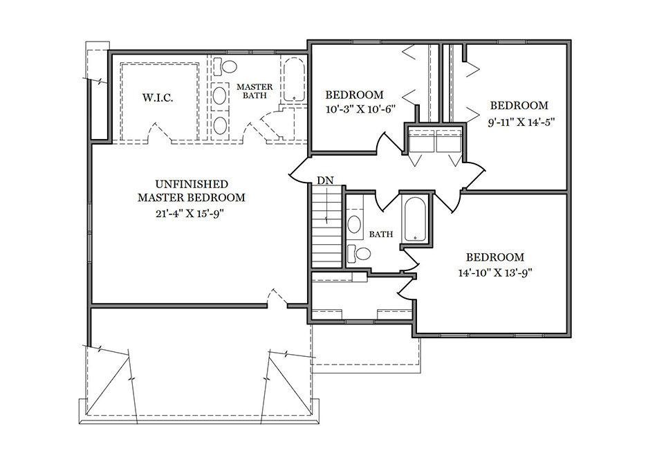 Riley Second Floor Plan