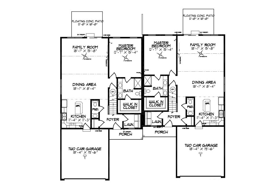 Alexander First Floor Plan