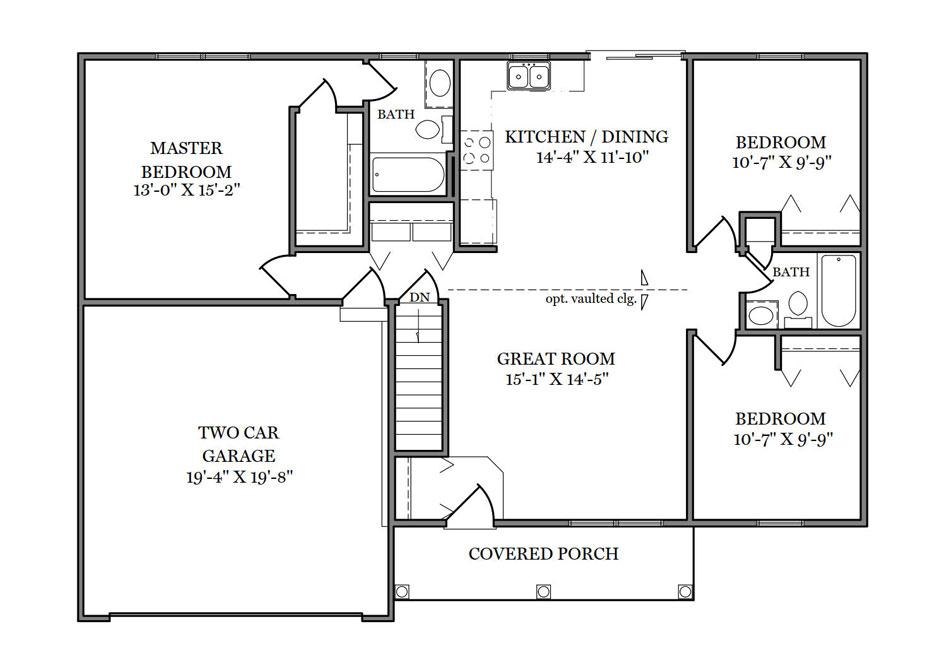 Singleton First Floor Plan