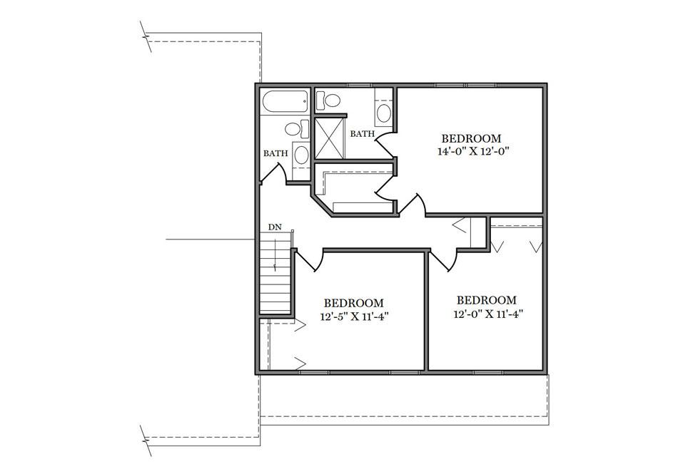 Wakefield Second Floor Plan