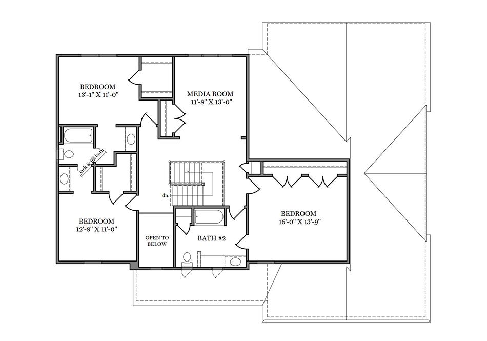 Windsor Second Floor Plan