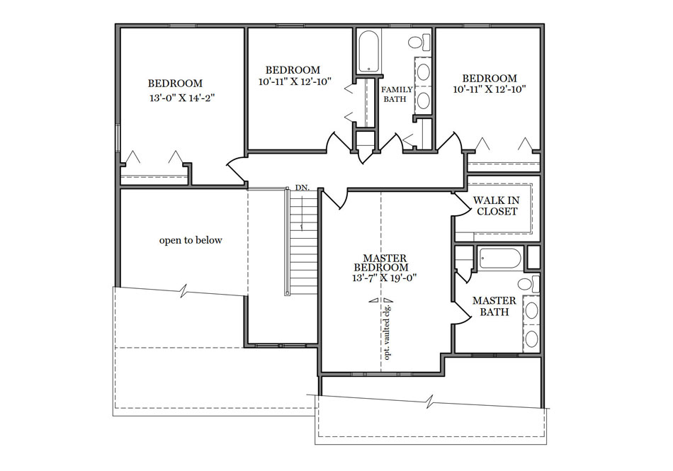 Wyndmour Second Floor Plan