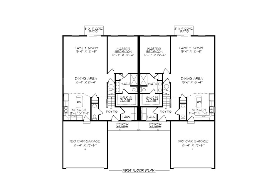 Alexander 32′ First Floor Plan