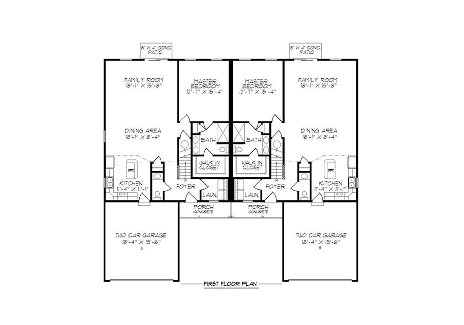 Alexander 32′ First Floor Plan