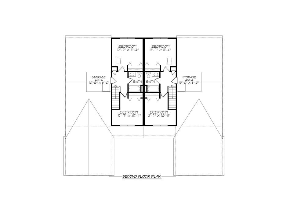 Alexander 32′ Second Floor Plan