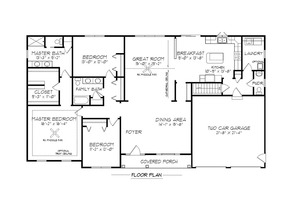 Barrington egstoltzfus homes for Barrington floor plan