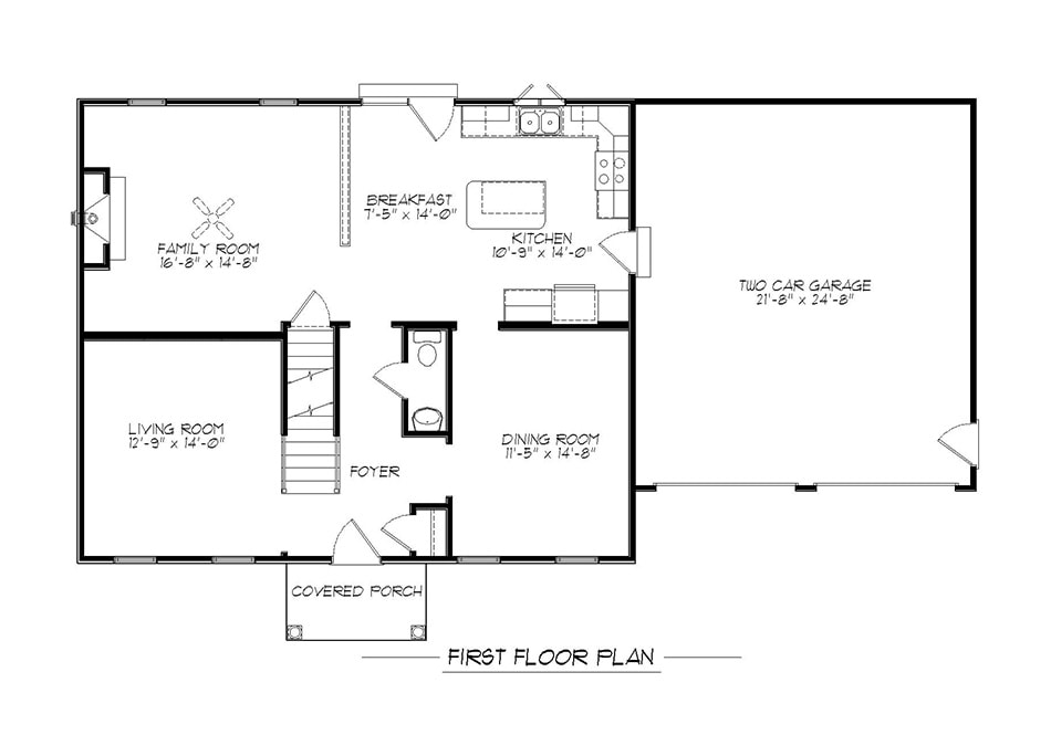 Briarwood First Floor Plan