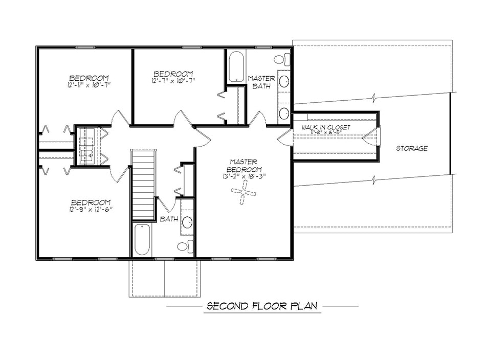 Briarwood Second Floor Plan