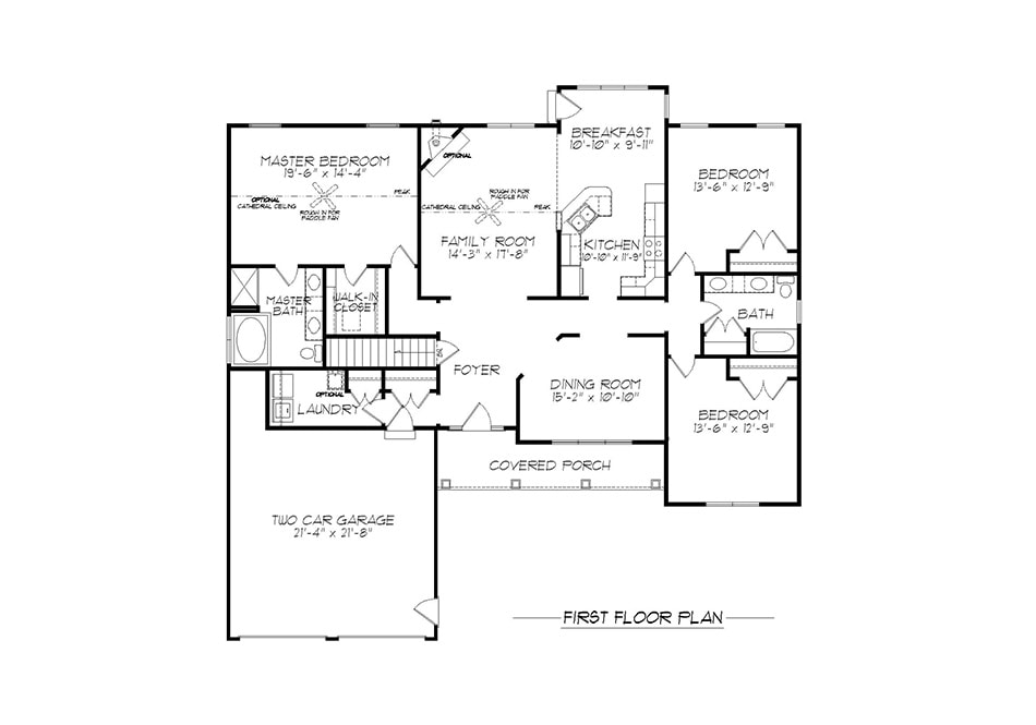 Brookfield First Floor Plan