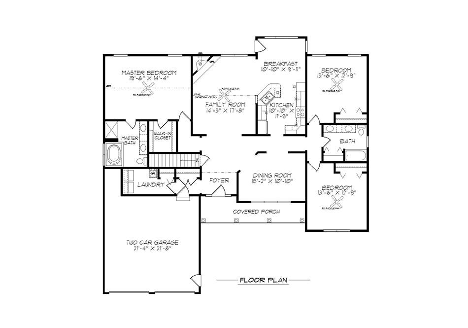 Brookfield First Floor Plan