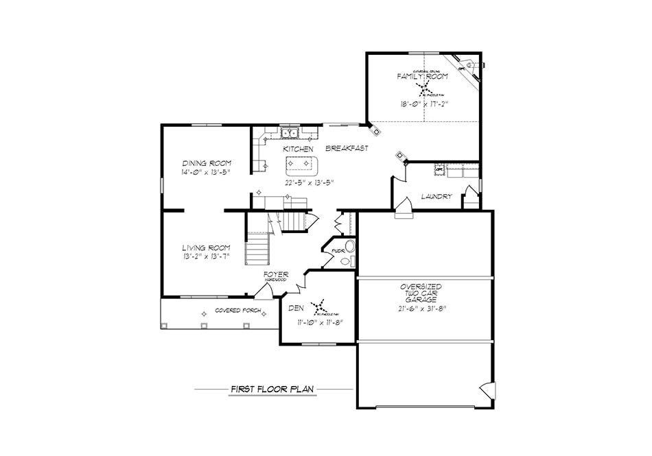Cambridge II First Floor Plan