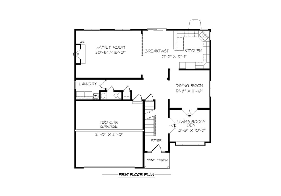 Carlton egstoltzfus homes for Manheim floor plan