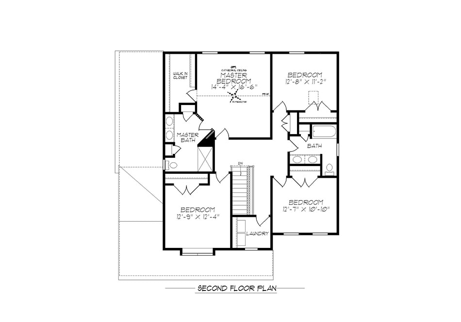 Carlton American Second Floor Plan