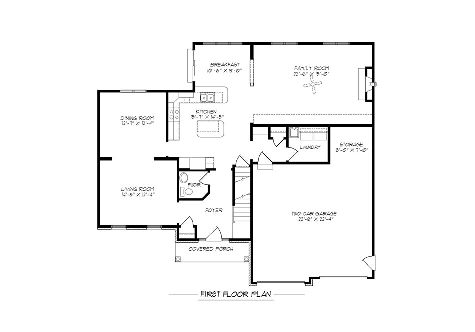 Dover First Floor Plan