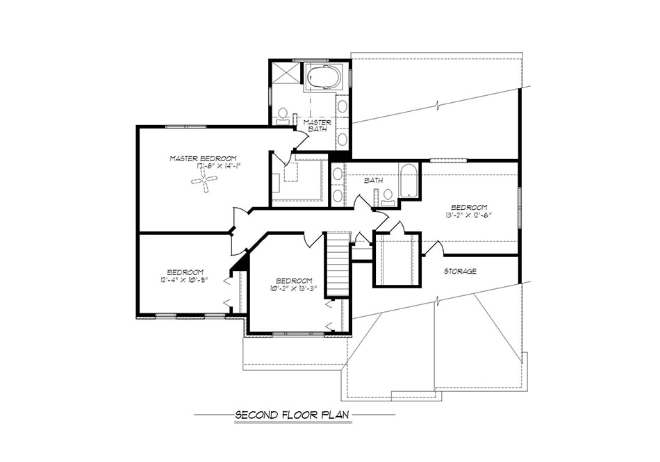 Dover Second Floor Plan
