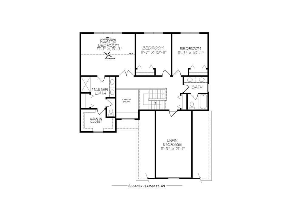 Fulton Second Floor Plan