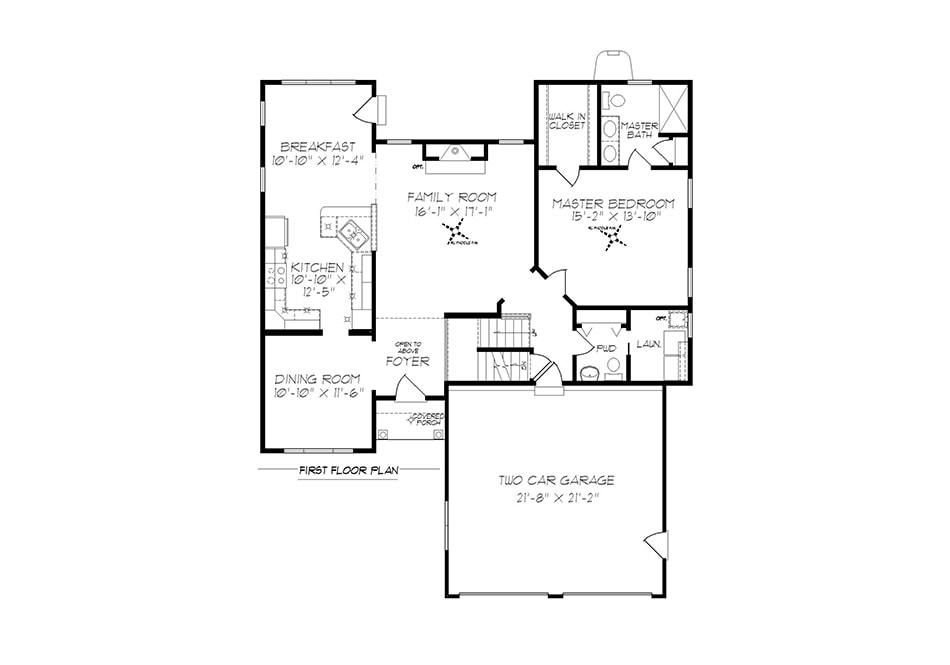 Fulton ll First Floor Plan