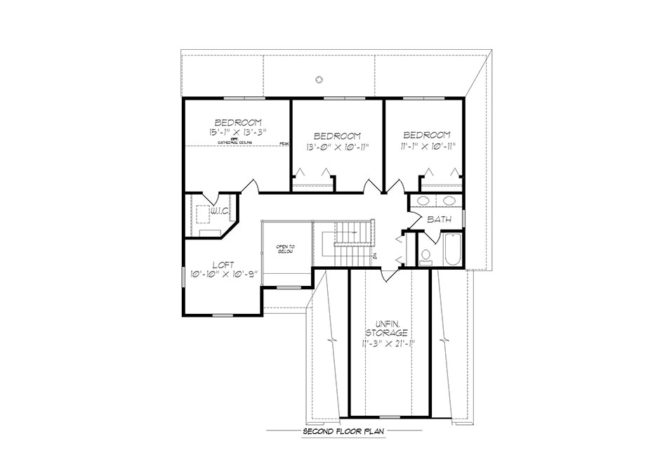 Fulton ll Second Floor Plan