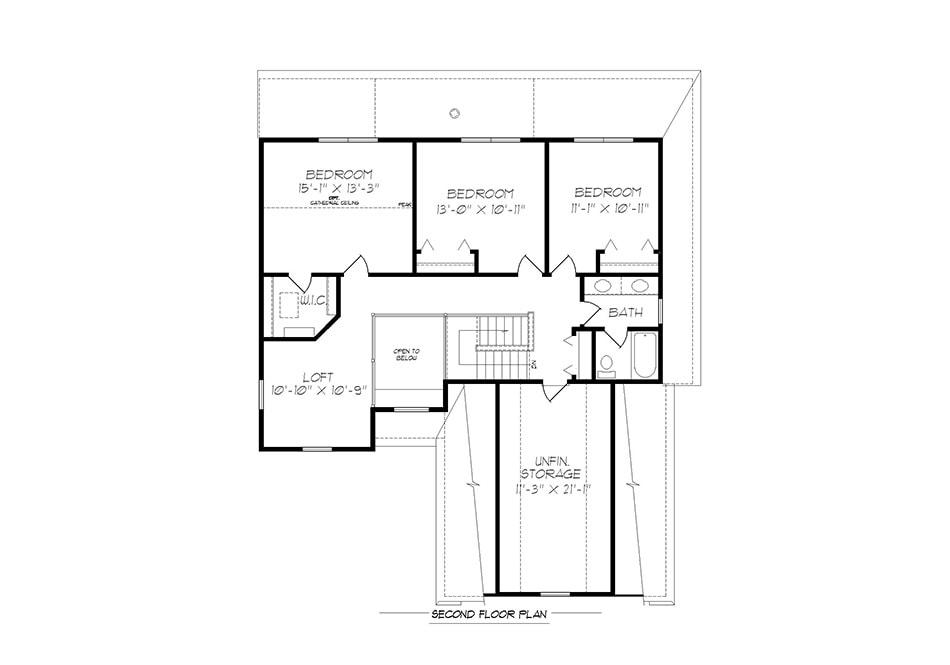 Fulton ll Second Floor Plan