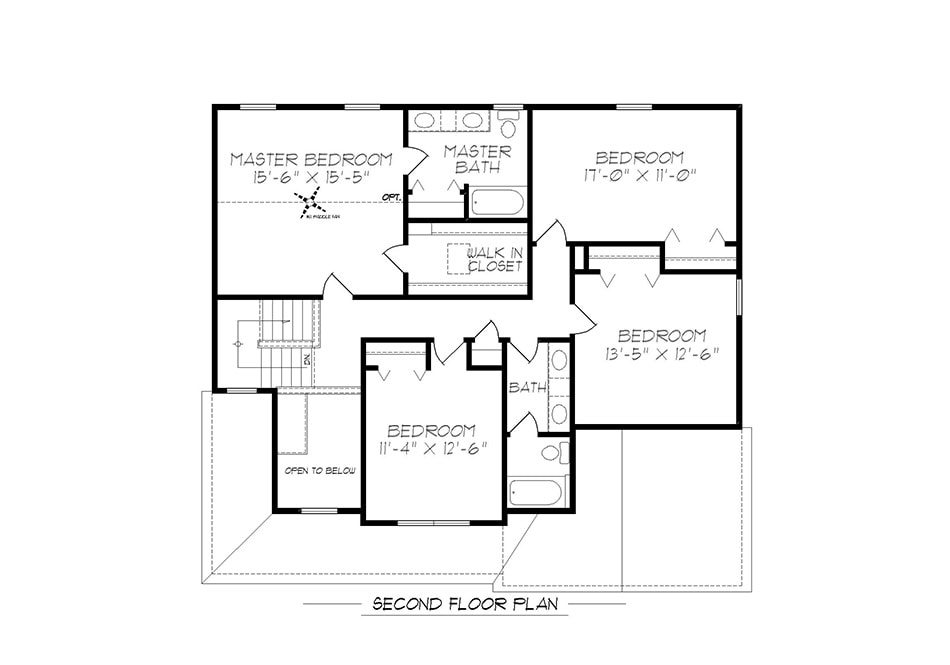 Glenwood II Second Floor Plan