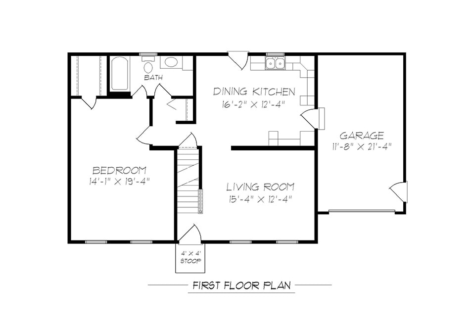 Hamilton Cape First Floor Plan