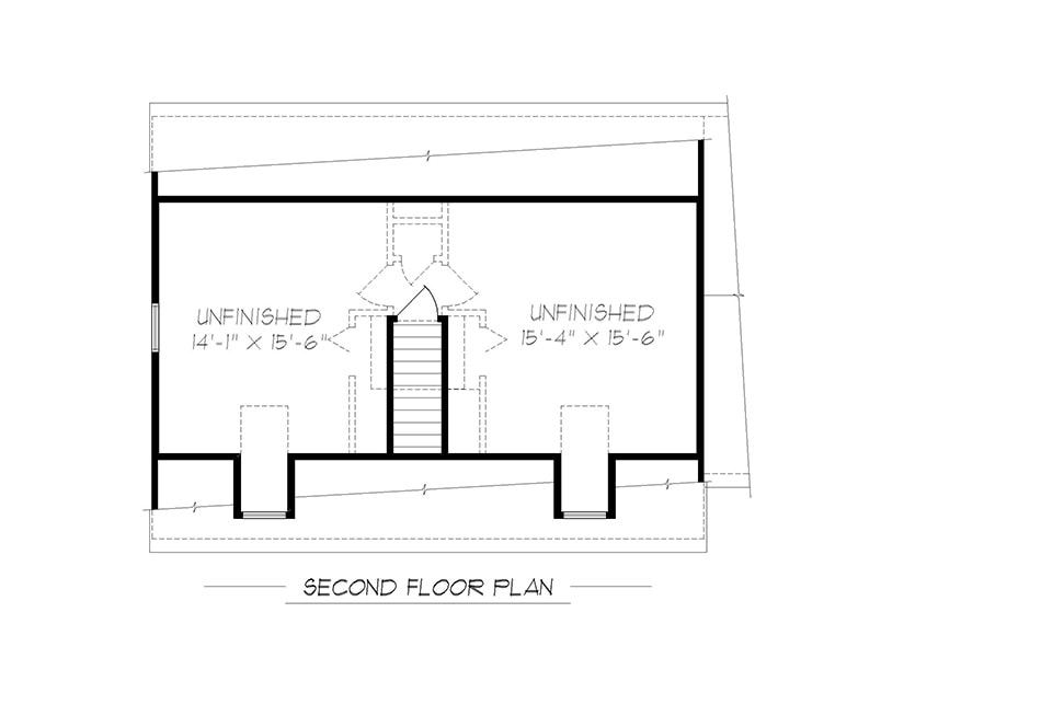 Hamilton Cape Second Floor Plan