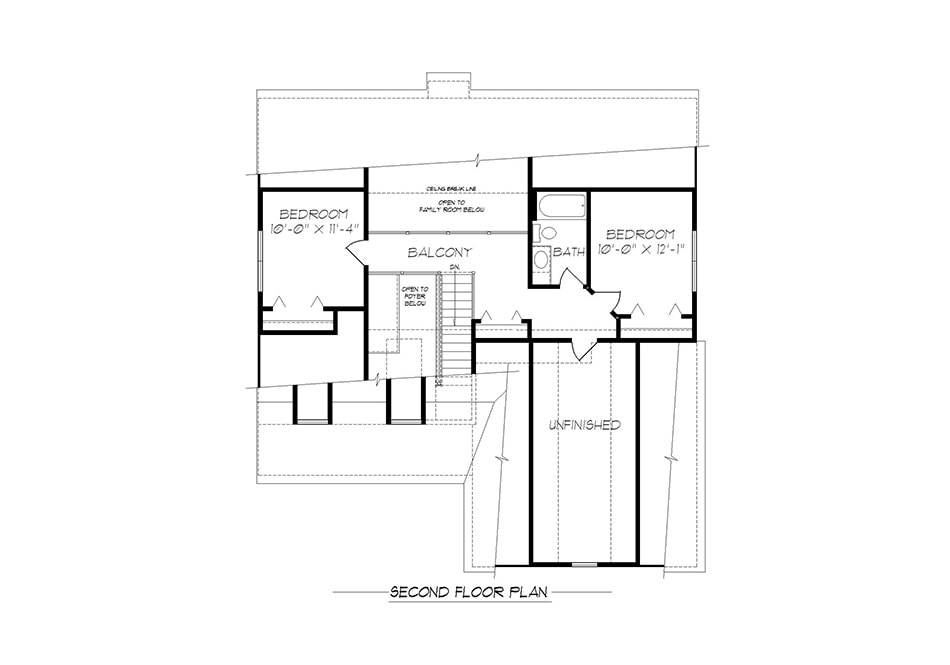Harrison Second Floor Plan