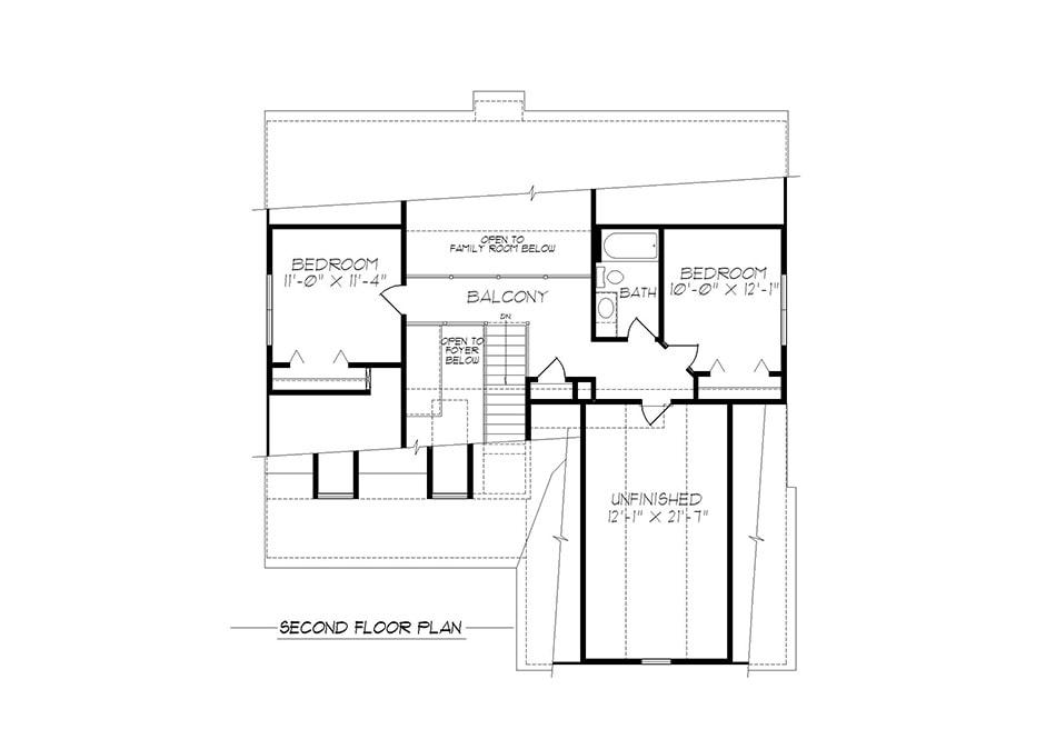 Harrison Second Floor Plan